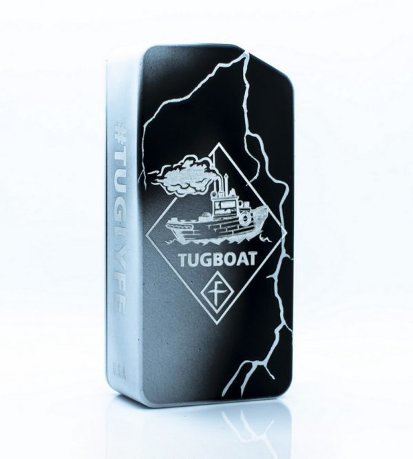 TUGLYFE Unregulated Box Mod V2 - Flawless - Bianco e Nero